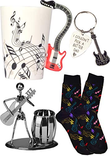 Dad Guitar Gifts, Guitar Gifts for Dad, Guitar Dad, Guitar Pick Dad, Guitar Coffee Mugs for Dad, PaPa Guitar Gifts, I Couldn't Pick a Better Dad Guitar Pick, Dad Guitar Socks