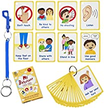 My Behaviour Cards 27 Flash Cards for Visual aid Special Ed, Speech Delay Non Verbal Children and Adults with Autism or Special Needs