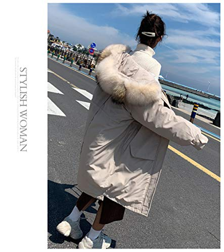 WFSDKN Damesjas, parka 2019, nieuwe aankomst dunne dames, winterjas, katoen, warm verdikt, lange jas, parka