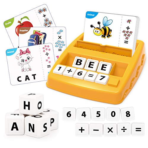 REMOKING Kids Toys for 3-8 Year Old Boys Girls,Match Letter and Spell Word...