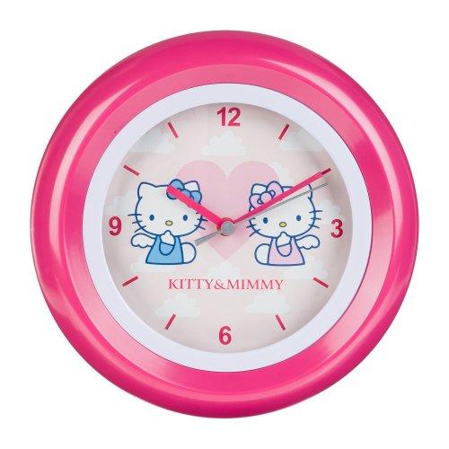 Hello Kitty HK28-5 - Orologio da parete ragazza