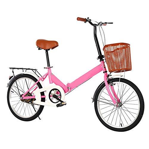 Axdwfd Kinderfiets, 16 inch, kinderwagen-fiets, opvouwbaar, lichtgewicht fiets, instelbaar stuur voor jongens en meisjes, voor pasgeborenen