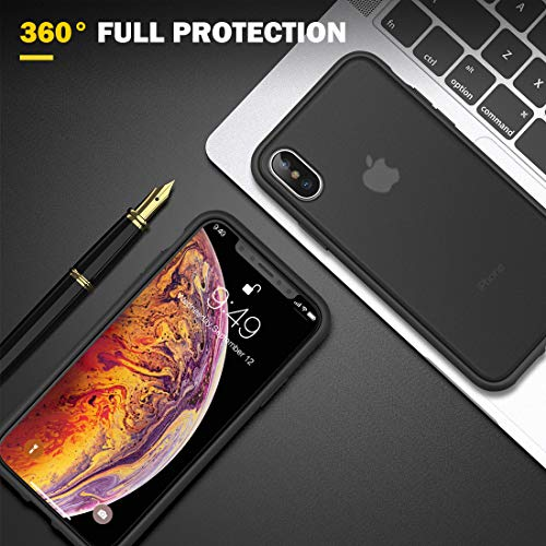 humixx Shockproof Series Translucent Matte Case