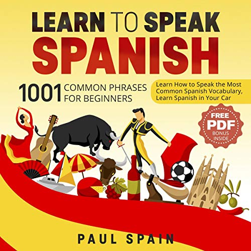 Learn to Speak Spanish audiobook cover art