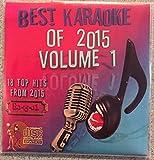Best Of Karaoke 2015 Volume 1 CD+Graphics CDG 18 Pop & Country Tracks Usher Rihanna Kanye West Jessie J Taylor Swift Maroon 5 Sam Hunt Kenny Chesney Pitbull Kelly Clarkson Ellie Goulding Walk The Moon