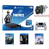 2020 Newest Playstation 4 Fortnite Neo Versa Gaming Console Bundle - Included 3 Games (Hozion Zero Dawn, God of War, Last of Us) w/HESVAP Charging Station Dock