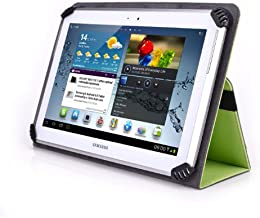 Digiland DL1008M 10.1 Inch Tablet Case - UniGrip 10 Edition Folio Case - By Cush Cases (Mint Green)