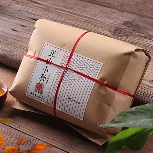 500g Lapsang Souchong Black Tea Zheng Shan Xiao Zhong Loose Tea Fujian Wuyi Tong Mu Guan Light Smoky