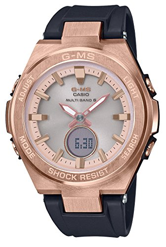 [カシオ] 腕時計 ベビージー G-MS 電波ソーラー MSG-W200G-1A1JF レディース ブラック