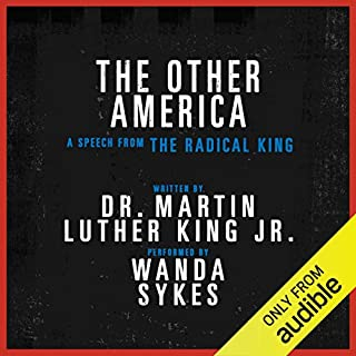 The Other America - A Speech from The Radical King (Free) audiobook cover art