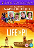 The Best Exotic Marigold Hotel / Life of Pi [Two Film Collection] [DVD]