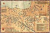 Mapa 'Navarra. Castillos del Reino - Erresumako gazteluak' (Ganbara)