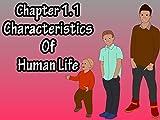 Chapter 1.1 Characteristics Of Human Life