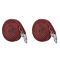 2個 バインディングロープ 多用途 アウトドア タイイングカーゴベルト 弾性ラゲッジロープ