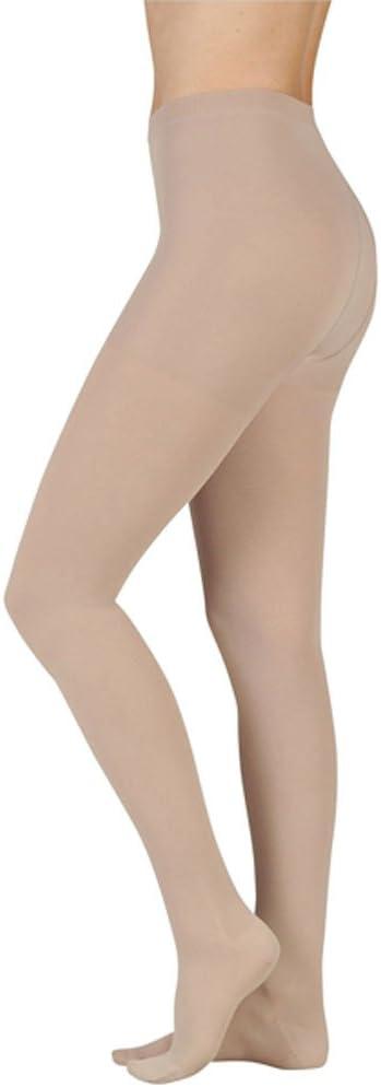 Juzo 2001 Soft Short Pantyhose w/ Open Crotch-Size III-Beige