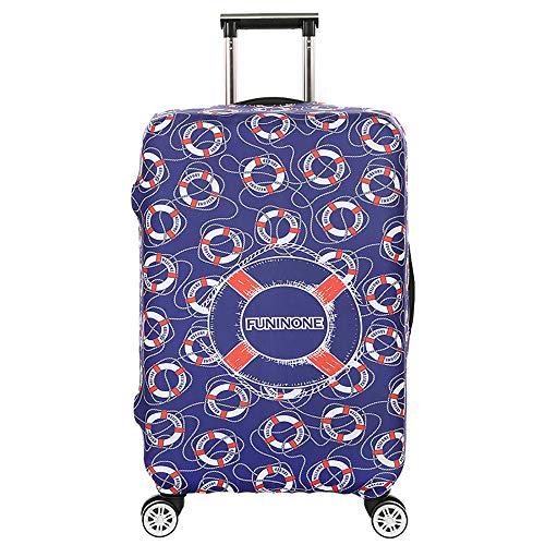 Elastisch Kofferschutz/Kofferhülle/Reisekoffer Hülle/Luggage Cover Zum 18-32 Zoll Gepäckabdeckung.Kratzfeste elastische Hülse,Rettungsring [XL]