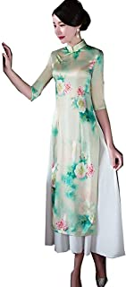Vietnamese Ao Dai Aodai Style Traditional Dresses