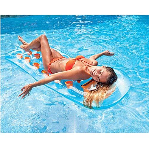 Xyl Inflable salón de natación Simples o Dobles colchonetas de Agua inflables...