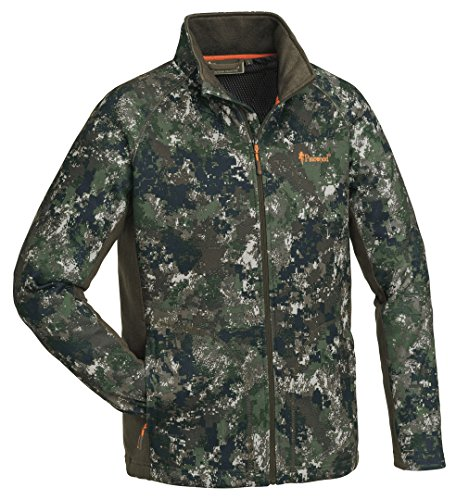 Pinewood® Gabriel Camou Fleece Strick Jacke Pixel-Camouflage (M)