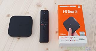 Ml Box S Android TV 8.1 with Google Assistant Remote 4K HDR Wi-Fi Bluetooth 4.2 8 GB (Black)