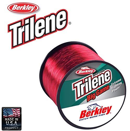 Berkley Trilene Big Game 15LB 0.30MM 1000M rot