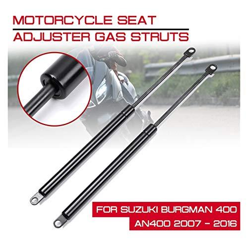 WRDD Amortiguadores de Gas para Suzuki Burgman 400 AN400 2007-2016 Motorcycle Scooter Asiento Ajustador Ajustador Ascensor Strut Bar Support Soporte ElevacióN Capó AutomóVil