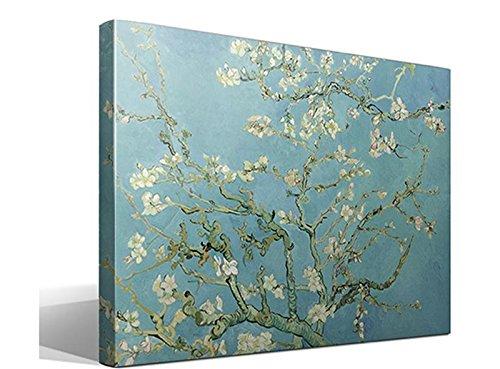 """baratos y buenos Cuadro de Vincent van Gogh """"Almendros en flor"""" – Ancho: 95 cm – Alto: 70 cm – Marco:… calidad"""