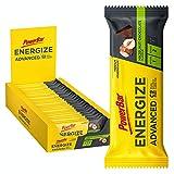 powerbar energize advanced hazelnut choco (25 x 55g - barretta energetica con c2max - 1380 gr