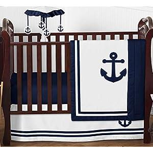 51peMlMf9+L._SS300_ Nautical Crib Bedding & Beach Crib Bedding Sets