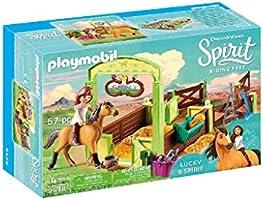 Playmobil Lucky & Spirit 9478 speelgoedpaardenbox