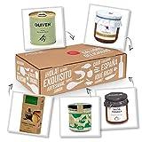 Vegane Köstlichkeiten - Veganer Geschenkkorb mit Feinkost aus Spanien. Vegan genießen - das Geschenk für Veganer