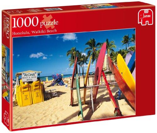 Jumbo Games, Honolulu, Waikiki Beach, Puzzle da 1000 pezzi