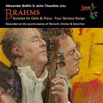 Brahms: Cello Sonatas & 4 Serious Songs, Op. 121