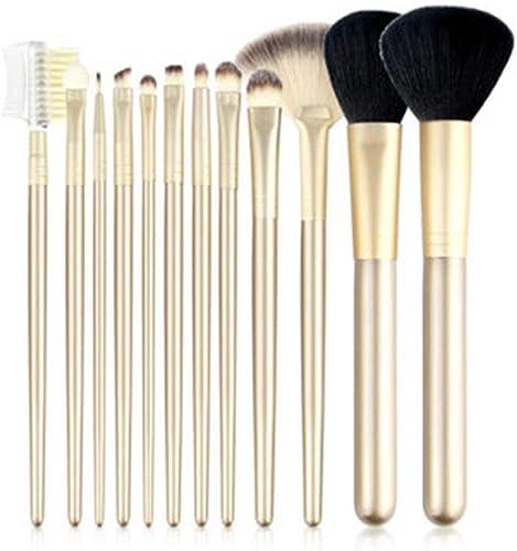 garantía de crédito CC-Makeup Brush Set Set Set de Pinceles para Maquillaje de Ojos  el Mejor Set de brochas de Mezcla de Ojos Veganas Profesionales de 12 Piezas - Champagne oro  entrega gratis