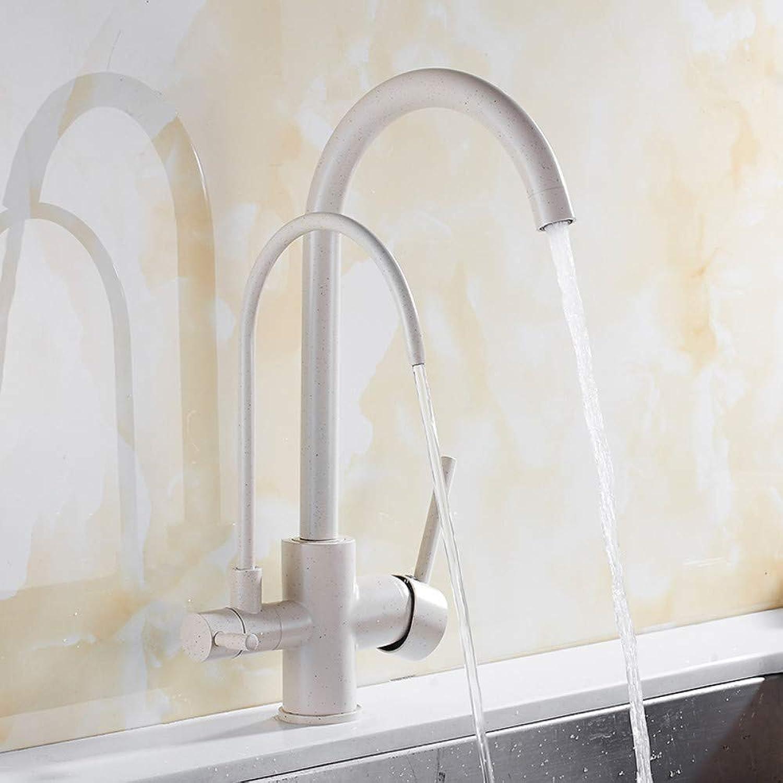 Kitchen Faucet Solid Brass Crane Kitchen Deck Install Water Filter Faucet Sink Faucet Mixer 3 Way Kitchen Faucet