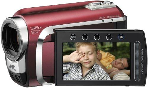 JVC GZ-MG630R Hybrid Camcorder With microSD slot & 60GB Hard Disc Drive...