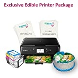 Icinginks Exclusive Cake Printer Package – Cake Wireless Image Printer, 10 Flexible Frosting - Best Reviews Guide