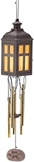 Dicksons Keep The Light On Bereavement Memorial LED Light Up 18 inch Wind Chime