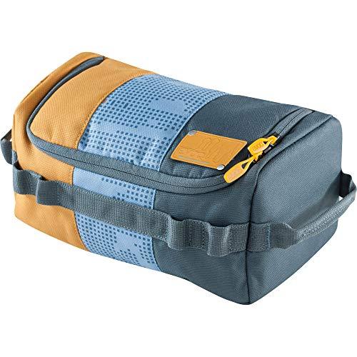 EVOC WASH BAG Kulturtasche Kulturbeutel für den Reisealltag (Organiser-Fächer mit individueller Raumteilung, herausnehmbarer Taschenspiegel, integrierter Haken zum Aufhängen), Mehrfarbig