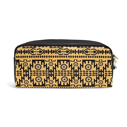 FANTAZIO Stifteetui, afrikanischer Teppich Textur