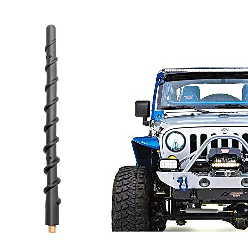 VOFONO 9 Inch Spiral Antenna Compatible with Jeep...