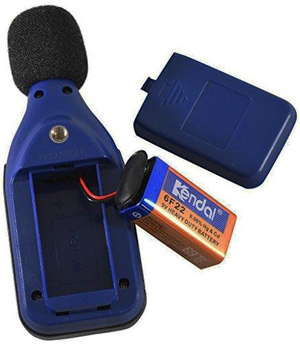 BAFX Products - Decibel Meter/Sound Pressure Level Reader (SPL) / 30-130dBA Range - 1 Year Warranty (Standard)
