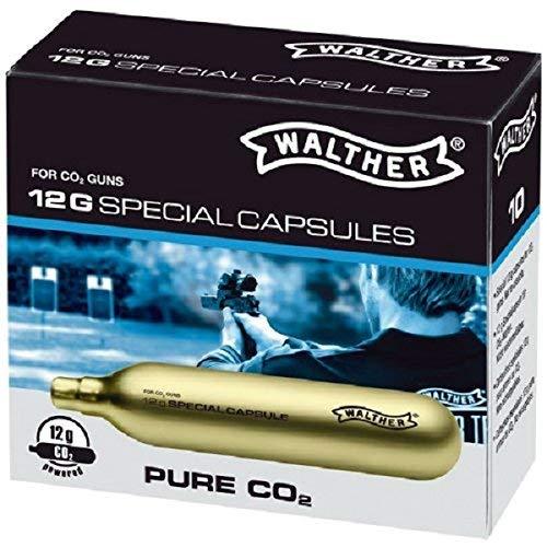 di umarex BOMBOLETTE CO2 Soft Air Gas Walther 12G per Pistola CO2 Libera Vendita Ricarica