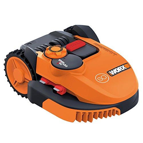 WORX WR105SI Robot - Cortacésped (Robot cortacésped, 2 cm, 6 cm, 68 dB, Naranja, Batería)