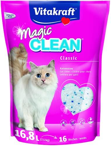 Vitakraft Magic Clean Perlas Silice 16,8L. 7,5 kg. 7500000 g