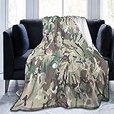 Manta de forro polar muy suave y acogedora para cama, sofá, salón, playa, picnic, otoño, primavera, invierno, color blanco