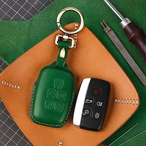 FGHYTR 2 Smart Auto Car Key Case Keychain Ring, for Land Rover Range Rover Sport Evoque Freelander for Jaguar XF XJ XJL XE