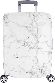 InterestPrint Vintage Marble Stone Luggage Cover Suitcase Bag Baggage Cover for 26