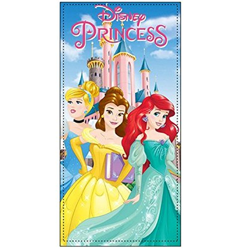 Serviette De Plage Disney Princesse 70x140 cm … (Bleu)