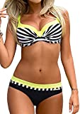 Tuopuda Bikini Push Up Mujer Bikinis con Relleno Trajes de Baño Bikini...